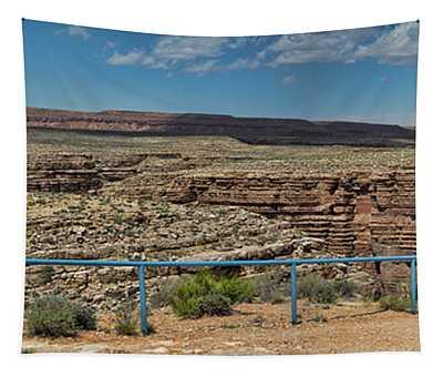 Panorama Color Colorado River Gorge Arizona Southwest Usa Tapestry