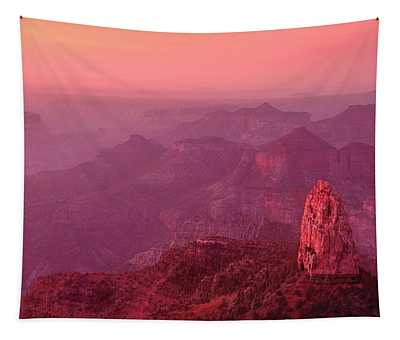 Panorama Pre-dawn At Point Imperial Grand Canyon National Park Tapestry