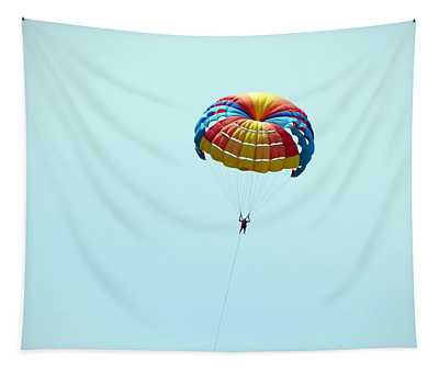 Parachuting Over The Sea, Parasailing Tapestry