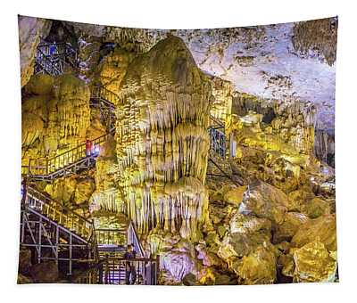 Paradise Cave Vietnam Tapestry