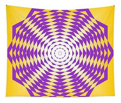 Passionate Purple  Tapestry