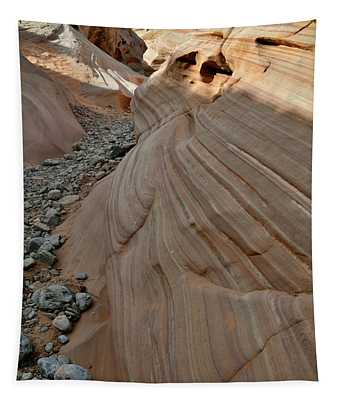 Pastel Canyon Sandstone Waves In Valley Of Fire Tapestry