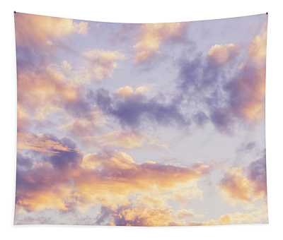 Pastel Cloudscape Tapestry