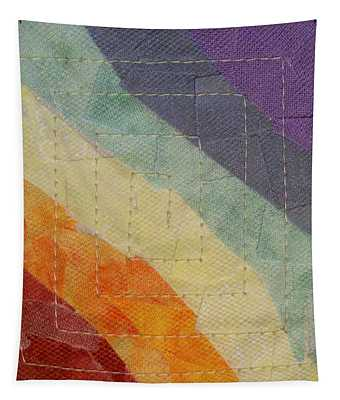 Pastel Color Study Tapestry