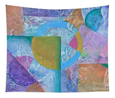 Pastel Textured Abstract Tapestry