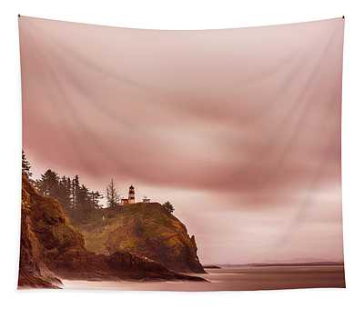 Pastel Seascape Tapestry