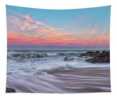 Pastel Sunrise Tapestry