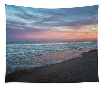 Pastel Sunset Tapestry