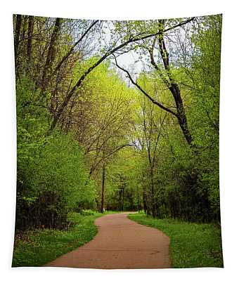 Path In The Forest Tapestry