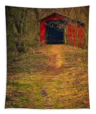 Path To Bridge Tapestry
