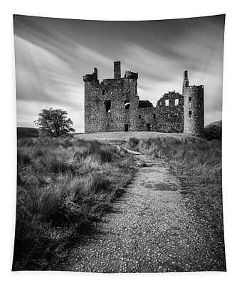 Path To Kilchurn Castle Tapestry