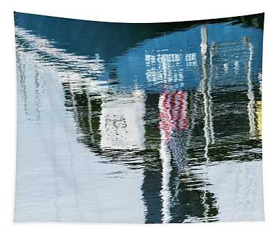 Patriotic Reflection Tapestry