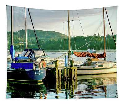 Peace In Lake Windermere Tapestry
