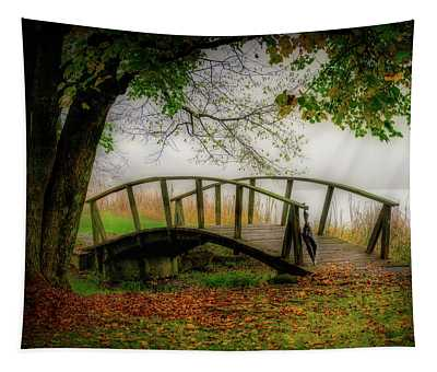 Peaks Of Otter Bridge Tapestry