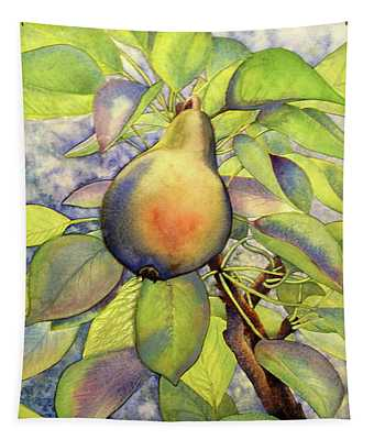 Pear Of Paradise Tapestry