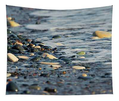 Pebbles And Sea Tapestry