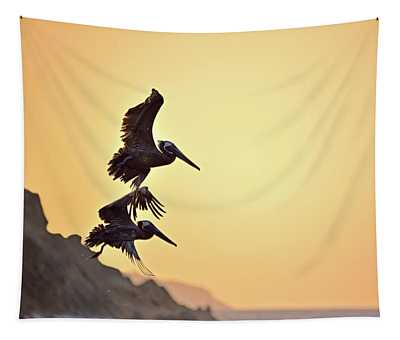 Pelican Down Tapestry