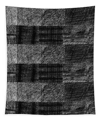 Pencil Scribble Texture 1 Tapestry