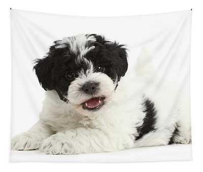 Perky Pup Tapestry