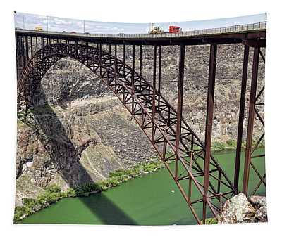 Perrine Bridge, Twin Falls, Idaho Tapestry