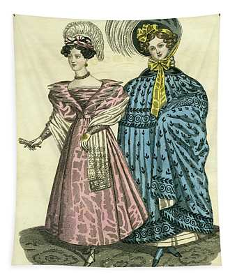 Philadelphia Fashions Tapestry