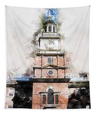 Philadelphia Independence Hall - 01 Tapestry