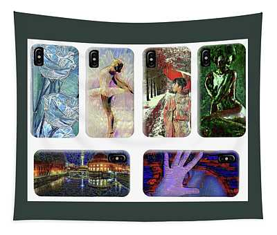 Phone Cases Samples Tapestry