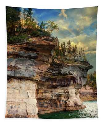 Pictured Rocks Michigan Tapestry