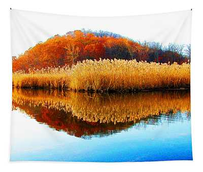 Piermont Autumn Backwater Tapestry