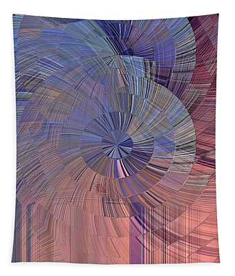 Pink, Blue And Purple Tapestry