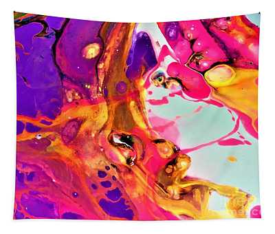 Pink Bubbly  Tapestry