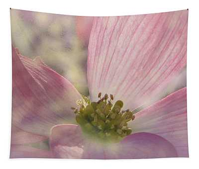 Pink Dogwood Dreams Tapestry