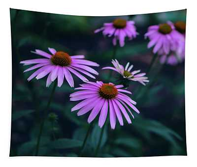 Pink Echinacea Tapestry