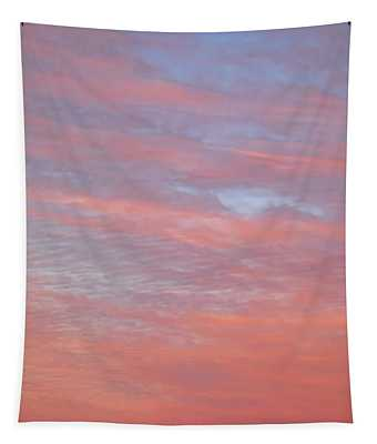 Pink In The Sky Tapestry
