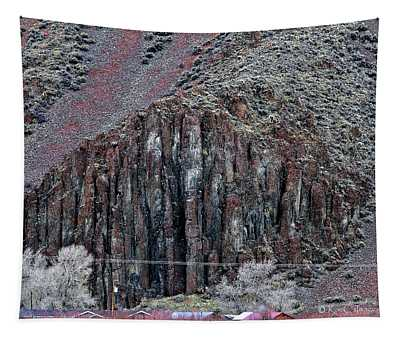 Pipe Organ Rock Geological Feature Tapestry