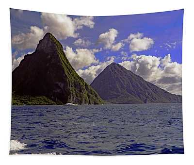 Pitons Tapestry