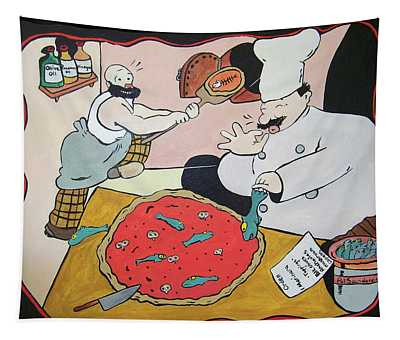 Pizza Parlour Tapestry