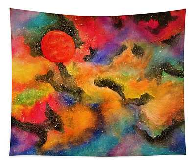 Planet Arcturus Tapestry