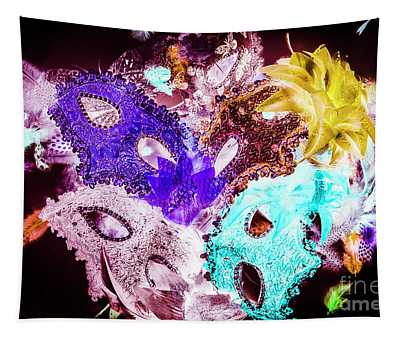 Play On Colors Tapestry