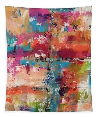 Playful Colors Tapestry