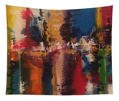 Playing With Color II Tapestry