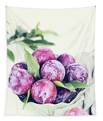 Plums Tapestry