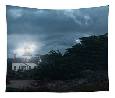 Point Pinos Lighthouse Tapestry