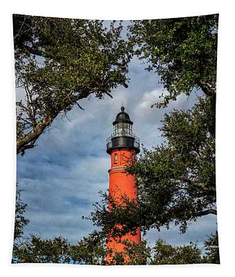 Ponce Inlet Lighthouse Tapestry