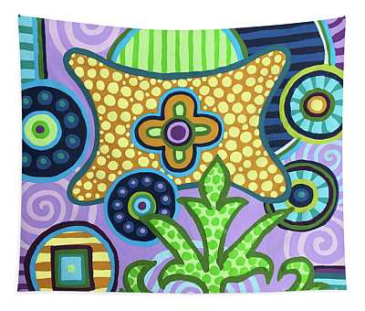 Pop Botanical 2 Tapestry
