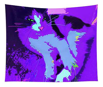 Pop Cat Callie Tapestry