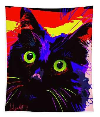 Pop Cat Lenny Tapestry