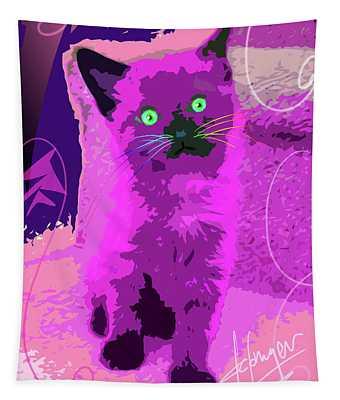Pop Cat Sparky Tapestry