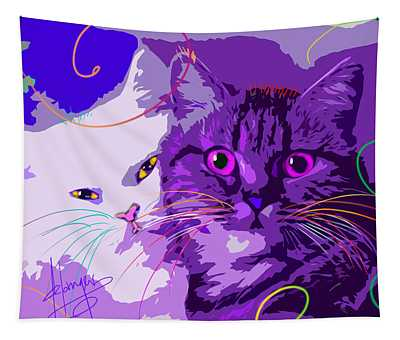 pOpCat Best Friends Tapestry