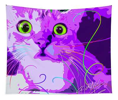 pOpCat Crazy Harry Tapestry